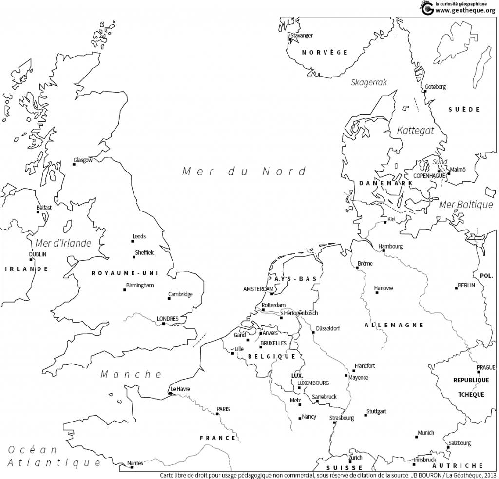 Northern Range : carte parlante