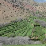 étagement des cultures haut atlas maroc
