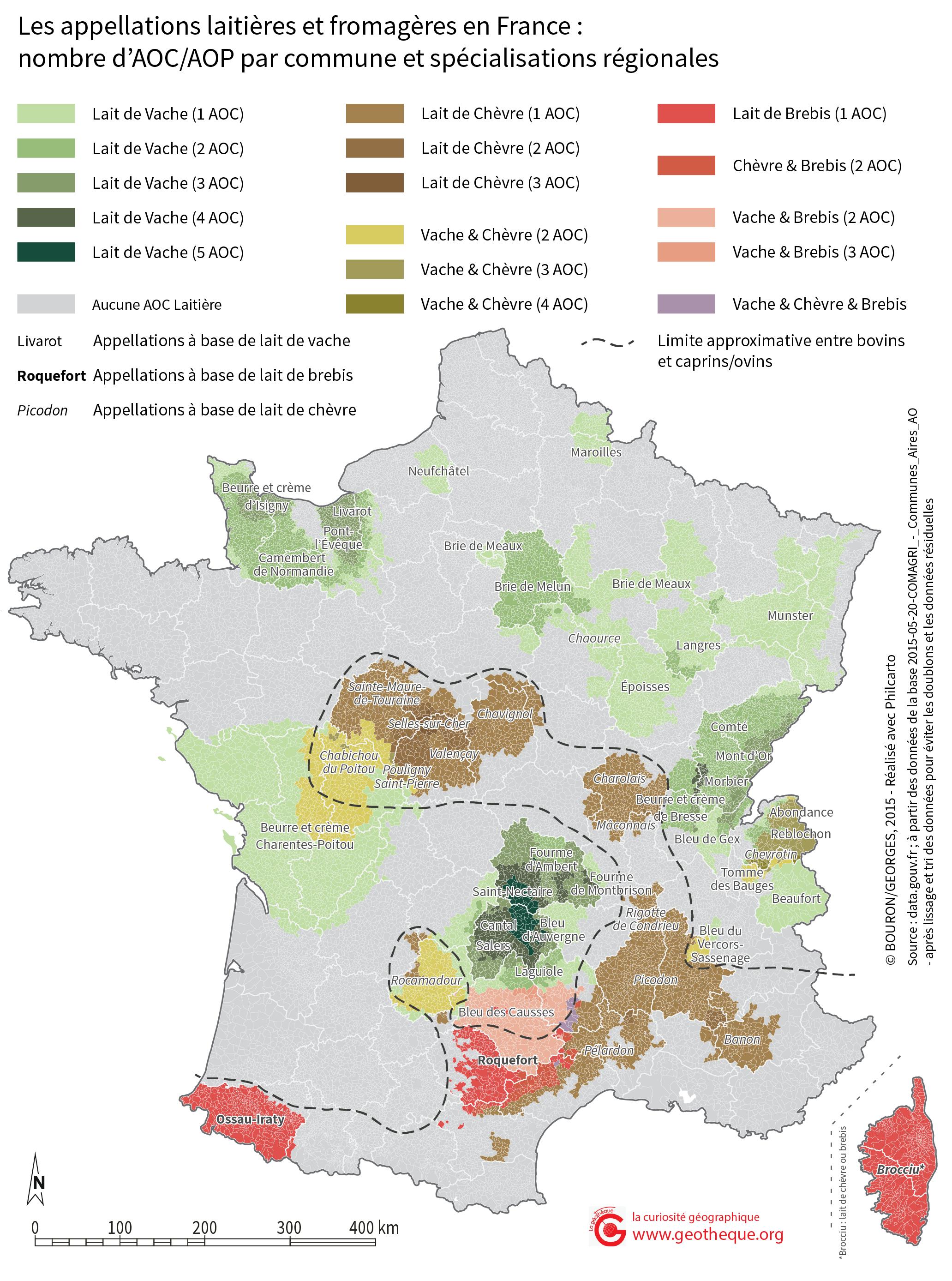 Top Des AOC à la carte : cartographier les appellations d'origine  HO82