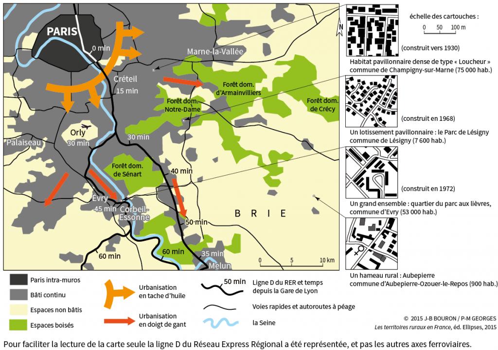 Périurbanisation-Sud-Est-de-Paris