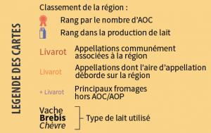 Légende infographie AOC
