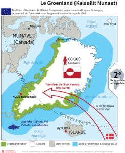 Groenland carte de synthèse