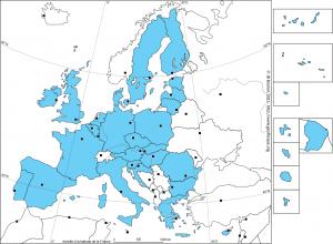 L'Union Européenne à 28 membres en 2013